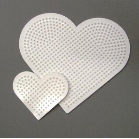 Support à Perles Cœur 16 cm Et 8 cm