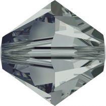 Toupie 5328 Black Diamond 4mm x50 Cristal Swarovk