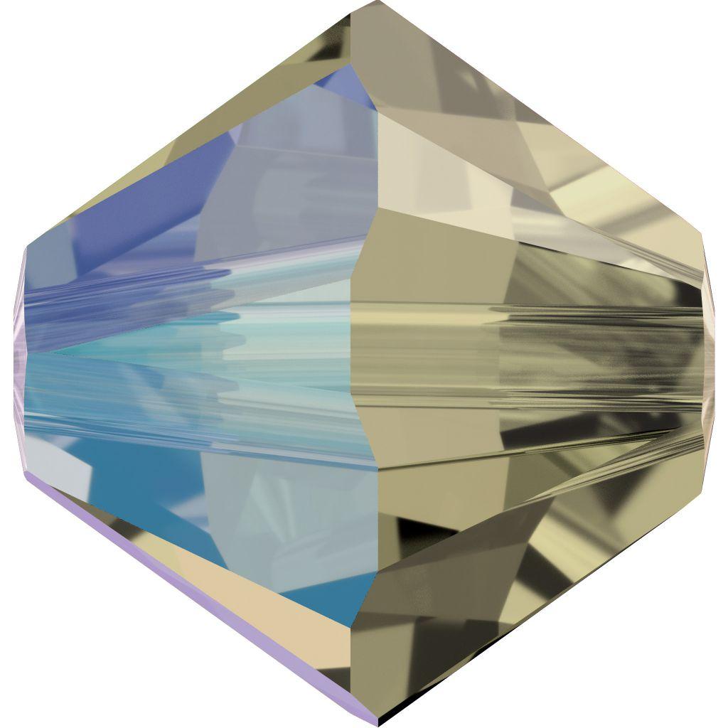 Toupie 5328 Black Diamond Shimmer 6mm x1 Cristal Swarovki