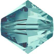 Toupie 5328 Blue Zircon 3mm x50 Cristal Swarovski
