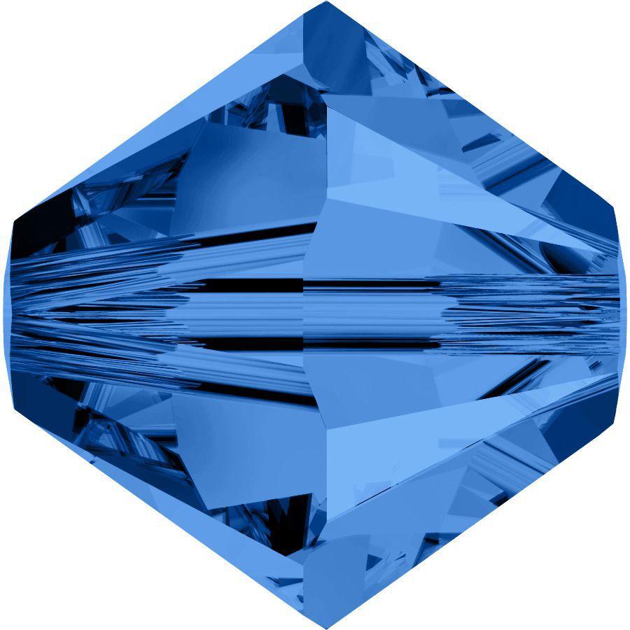Toupie 5328 Capri Blue 3mm x 50 Cristal Swarovki