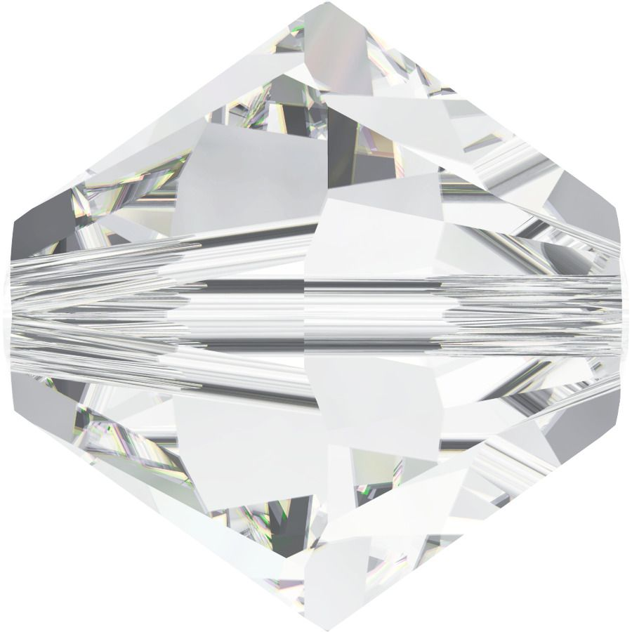 Toupie 5328 Crystal 3mm x 50 Cristal Swarovki