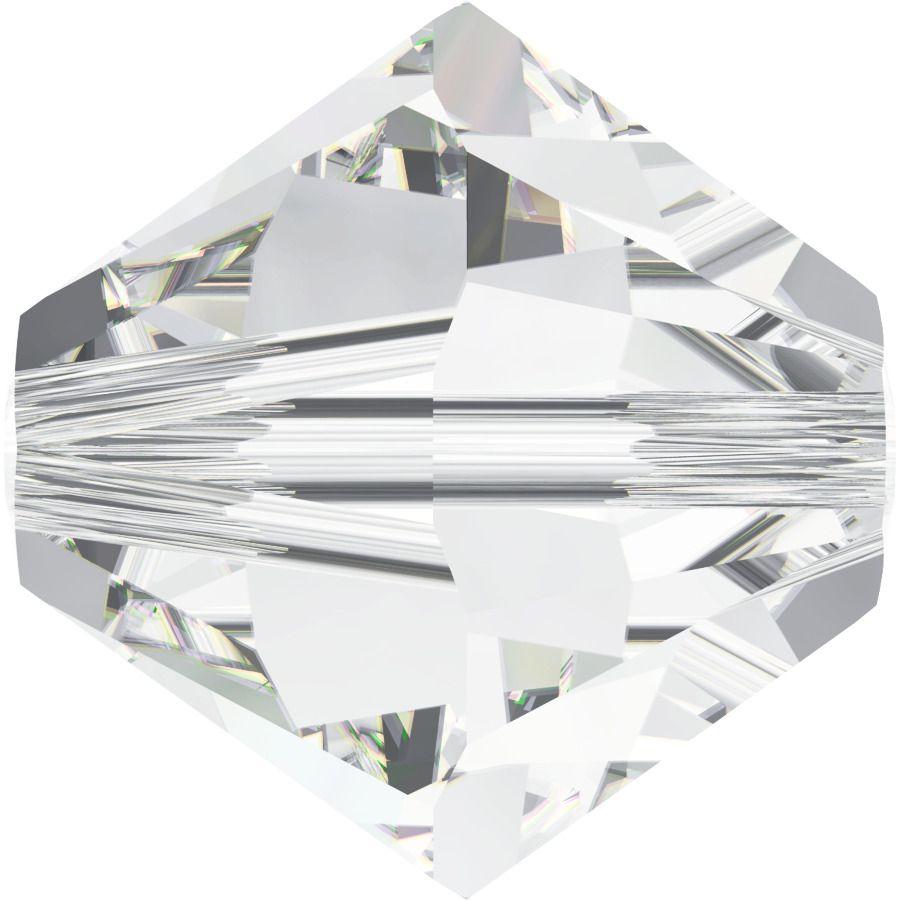 Toupie 5328 Crystal 4mm x 50 Cristal Swarovki