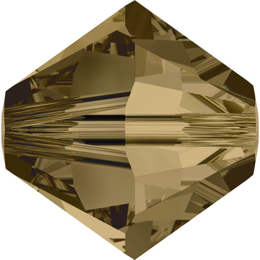 Toupie 5328 Crystal Bronze Shade 4mm x50 Cristal Swarovki