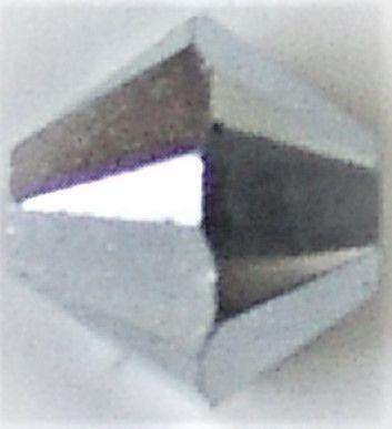 Toupie 5328 Crystal CAL 2X 4mm x 50 Cristal Swarovki