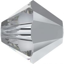Toupie 5328 Crystal Comet Argent Light 4mm x50 Cristal Swarovki