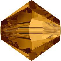 Toupie 5328 Crystal Copper 6mm x1 Cristal Swarovki