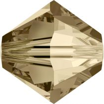 Toupie 5328 Crystal Golden Shadow 4mm x50 Cristal Swarovki
