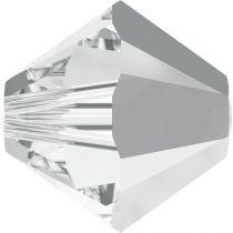 Toupie 5328 Crystal Light Chrome 4mm x50 Cristal Swarovki