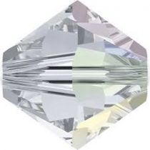 Toupie 5328 Crystal Shimmer 4mm x50 Cristal Swarovski