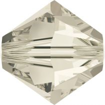 Toupie 5328 Crystal Silver Shade 3mm x50 Cristal Swarovki