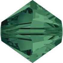 Toupie 5328 Emerald 3mm x50 Cristal Swarovki