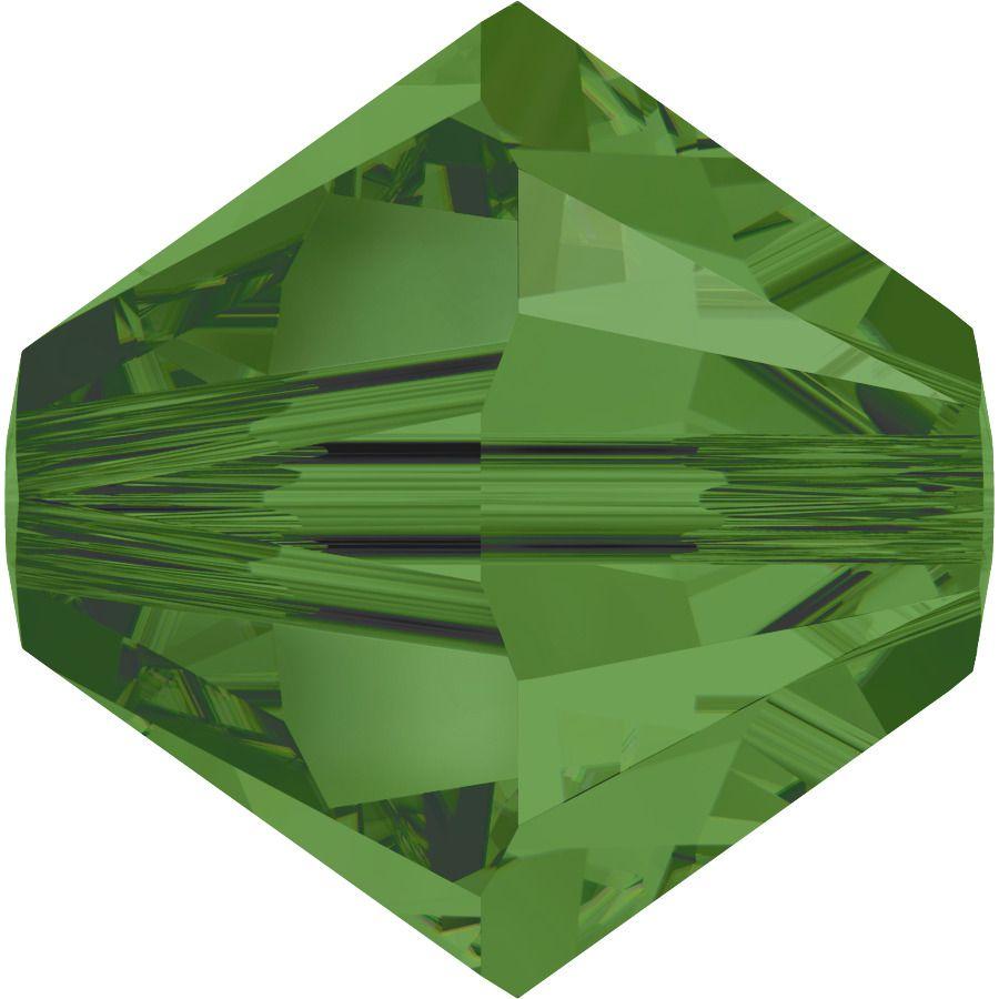 Toupie 5328 Fern Green 4mm x50 Cristal Swarovski