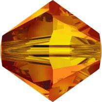 Toupie 5328 Fireopal 6mm x1 Cristal Swarovski