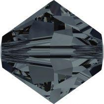 Toupie 5328 Graphite 4mm x50 Cristal Swarovski