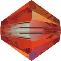 Toupie 5328 Hyacinth AB2X 4mm x 50 Cristal Swarovki