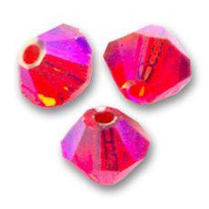Toupie 5328 Hyacinth AB2X 4mm x 50 Cristal Swarovski