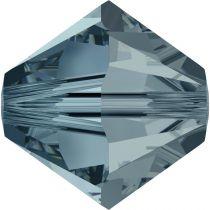 Toupie 5328 Indian Sapphire 4mm x 50 Cristal Swarovki