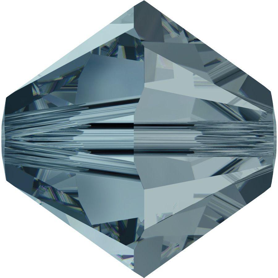 Toupie 5328 Indian Sapphire 5mm x20 Cristal Swarovski
