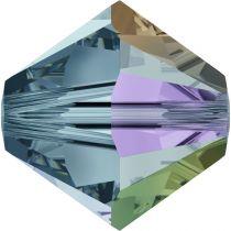 Toupie 5328 Indian Sapphire AB 6mm x1 Cristal Swarovski