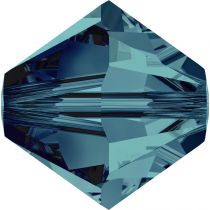 Toupie 5328 Indicolite 8mm x1 Cristal Swarovki