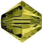 Toupie 5328 Khaki 4mm x 50 Cristal Swarovki