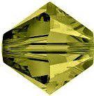 Toupie 5328 Khaki 5mm x20 Cristal Swarovski