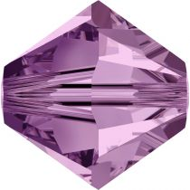 Toupie 5328 Light Amethyst 4mm x 50 Cristal Swarovki