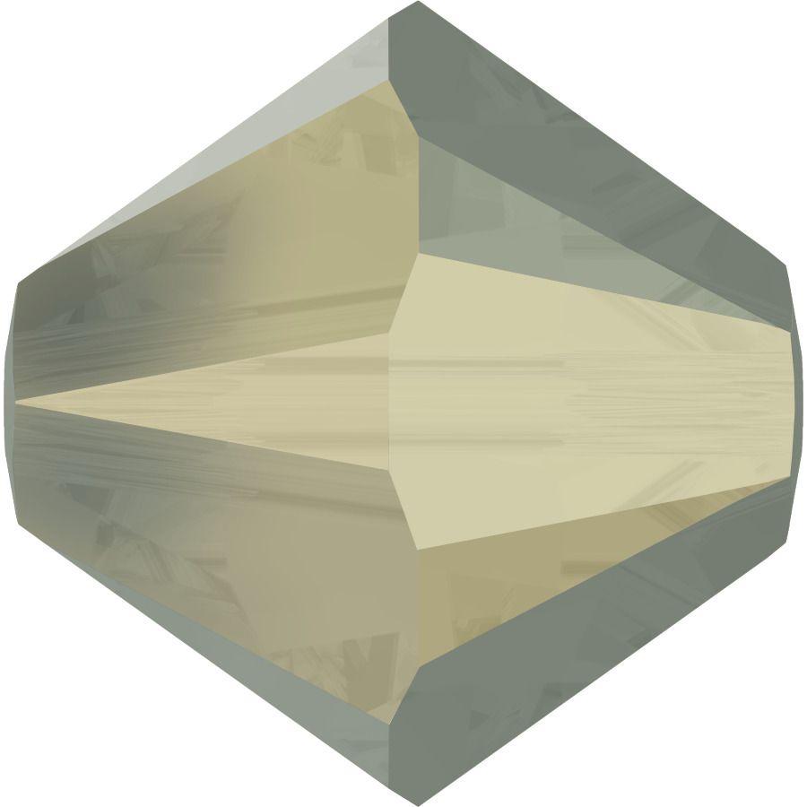 Toupie 5328 Light Grey Opal 6mm x1 Cristal Swarovski