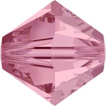 Toupie 5328 Light Rose 6mm x1 Cristal Swarovski
