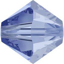 Toupie 5328 Light Sapphire Satin 5mm x20 Cristal Swarovski