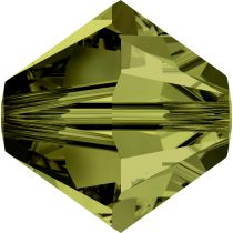 Toupie 5328 Olivine 3mm x50 Cristal Swarovki