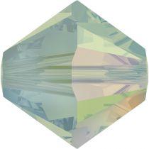 Toupie 5328 Pacific Opal AB 4mm x 50 Cristal Swarovki