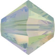 Toupie 5328 Pacific Opal AB2X 4mm x50 Cristal Swarovski