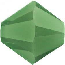 Toupie 5328 Palace Green Opal  4mm x 50 Cristal Swarovki