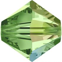 Toupie 5328 Peridot AB 6mm x1 Cristal Swarovski