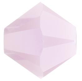 Toupie 5328 Rose Alabaster Satin 4mm x 50 Cristal Swarovki