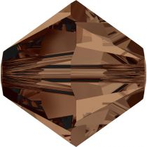 Toupie 5328 Smoked Topaz 3mm x50 Cristal Swarovki
