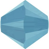 Toupie 5328 Turquoise 6mm x1 Cristal Swarovski