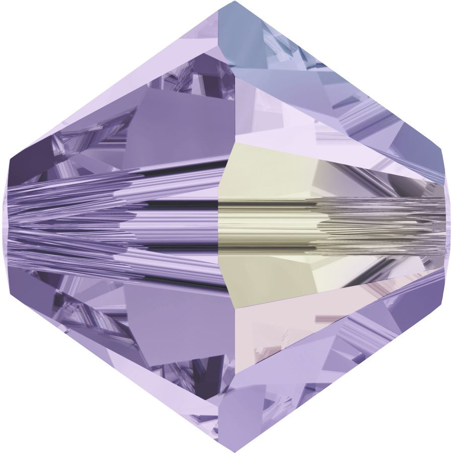 Toupie 5328 Violet AB 3mm x 50 Cristal Swarovki