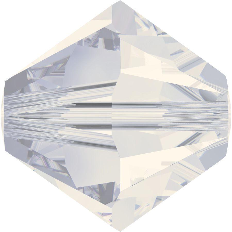 Toupie 5328 White Opal 5mm x20 Cristal Swarovski