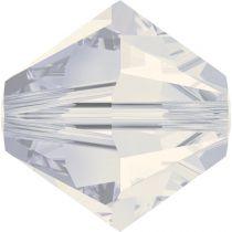 Toupie 5328 White Opal 8mm x1 Cristal Swarovki