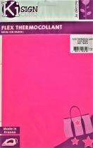 Transfert thermocollant rose fluo 15x20 cm