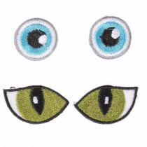 Yeux thermocollants  Ø 20mm - sachet de 4 yeux.